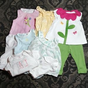 Gymboree Baby Girl Bundle Size 6-9 Months